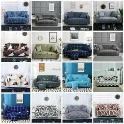 1 - 4 Seat Modern Floral Slipcovers Stretch Sofa Cover Couch