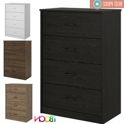4 DRAWER DRESSER CHEST Of Drawers Furniture Clothes Cabinet