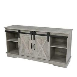 """58"""" Industrial TV Stand w/ Shelves Entertainment Furniture M"""