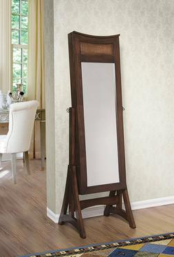 W Unlimited Bedford Classic Long Cheval Mirror Jewelry Cabin