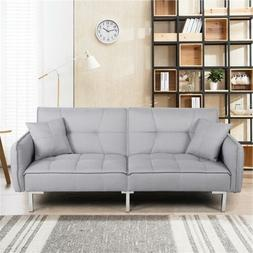 Convertible Sleeper Sofa Bed Couch Pull out Futon Sofas Dayb