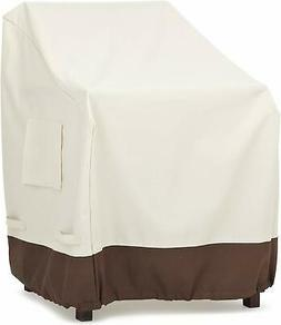 AmazonBasics Dining Arm Chair Outdoor Patio Furniture Cover,
