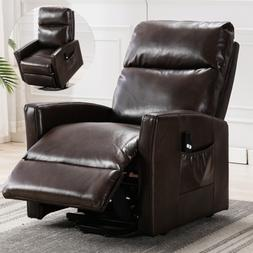 Electric Lift Recliner Chair Sofa Padded Seat Armchair Loung