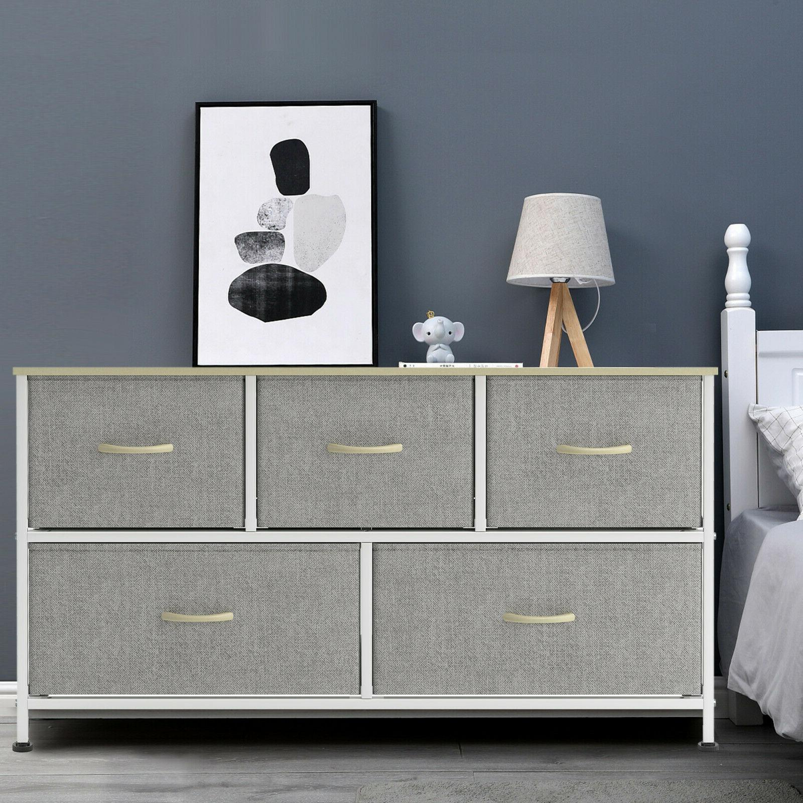 5 Chest Drawers Contemporary Furniture Wooden