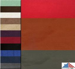 """MICROSUEDE Faux Suede Fashion Fabric Upholstery 58""""/60"""" Wide"""