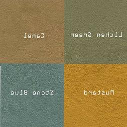 Microsuede Suede Fabric Upholstery Drapery Furniture Cover S
