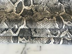 Snake Skin Printed Fabric  Sold by the yard. USA SELLER.