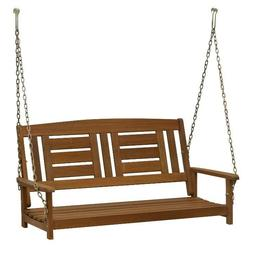 Wood Hanging Swing Without Frame Outdoor Patio Furniture Ben